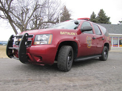 Waterford Fire Dept Truck Lettering