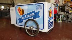 Ice Cream Cart Vinyl Wrap 3M