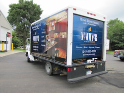 New,eyer cube van box truck wrap