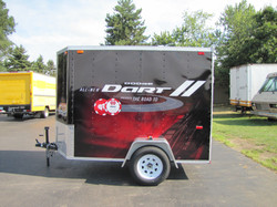 Dodge Dart Trailer Wrap