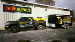 Lazerlines Truck and Trailer Wrap