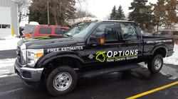 Truck Lettering Options Paving