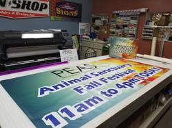 PEAS Banner Print HP Scitex