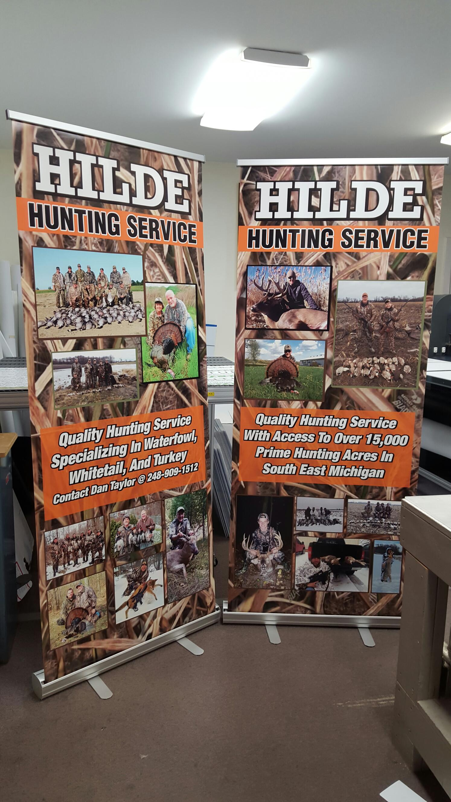 Hilde Retractable Banner