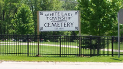 CNC Routed Cemetery Sign