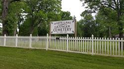 Granger Cemetery White Lake Sign