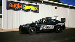 Waterford Police Cruiser Lettering