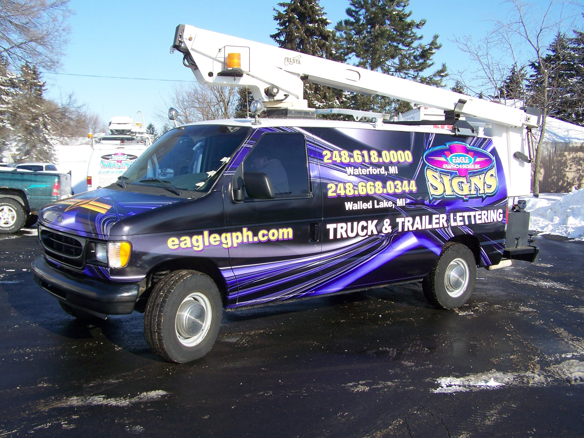 Van Wrap Eagle Graphics