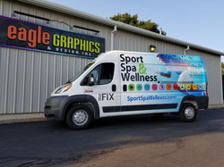 Dodge Promaster Van Wrap the FIX