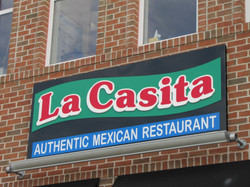 La Casita Sign