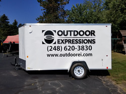 Trailer Wrap for Outdoor Expressions