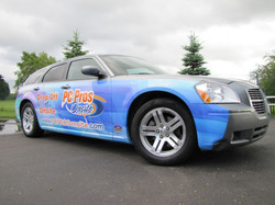 Partial Magnum Car Wrap SUV Wrap