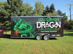 Lake Orion Band Full Trailer Wrap