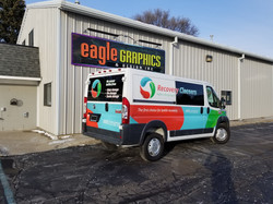 van wrap dodge promaster sign shop