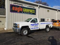 3m spot wrap truck vinyl signshop