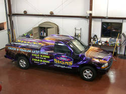 Dakota Truck Wrap Eagle Graphics