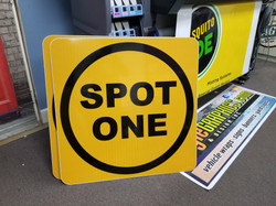 3' x 3' Reflective Signs for Airport