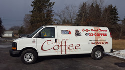 Coffee Break Services Van Wrap