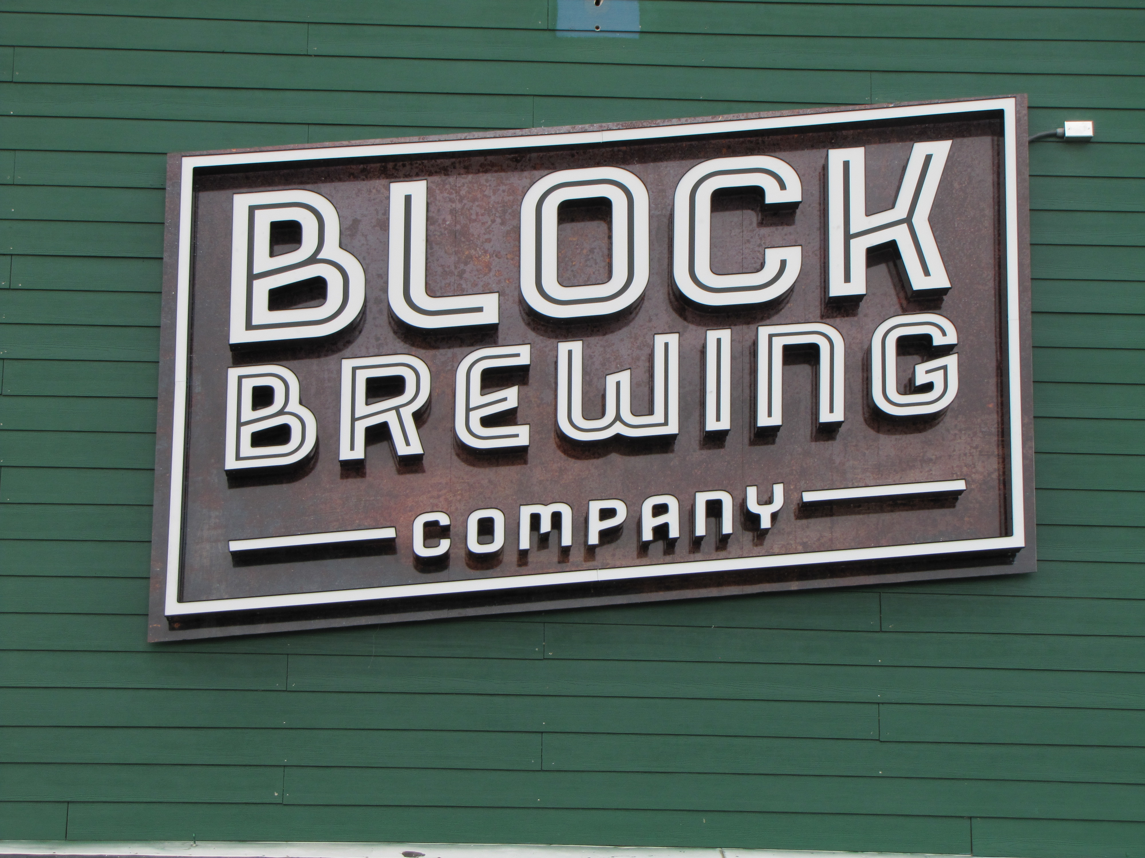 Block Brewing Channe Letter LED