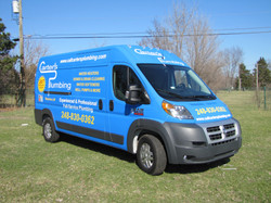 Color Change Van Wrap & Lettering
