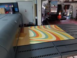 flatbed printer hp sign shop signs