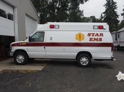 Star EMS Van Lettering