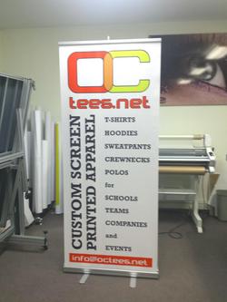 OCtees Retractable Banner