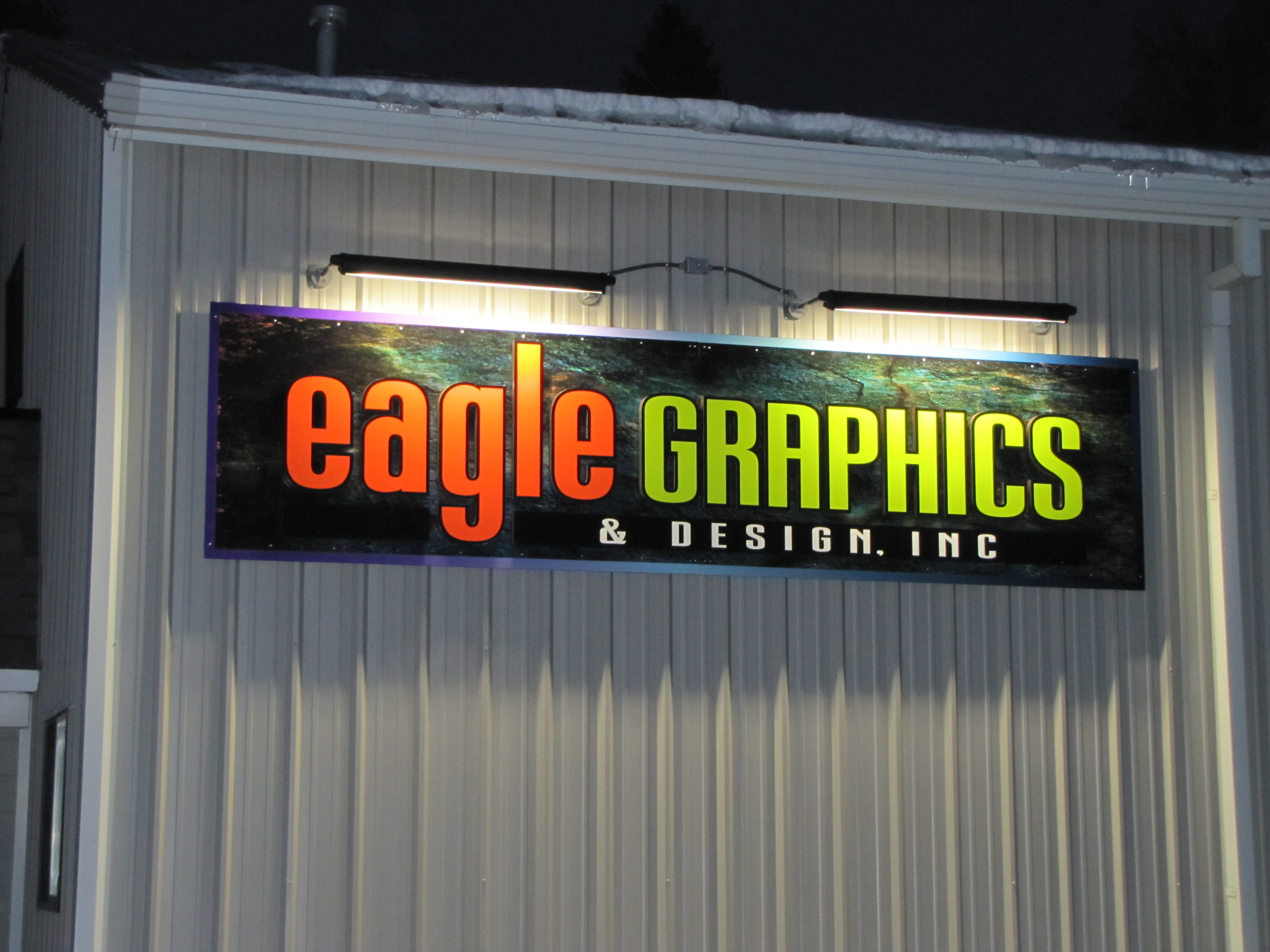 Eagle Graphics Wall Sign