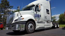 Semi Truck Lettering Boss Transport