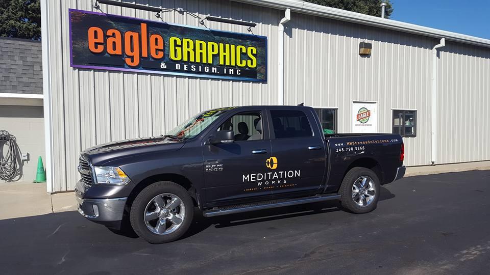 Truck Lettering Meditation Works