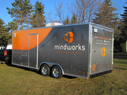 Mindworks Full Trailer Wrap