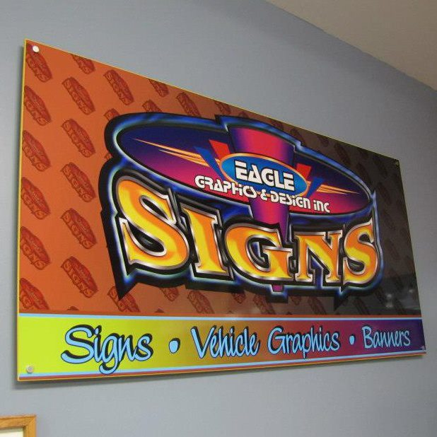 Interior Wall Sign Eagle Graphics