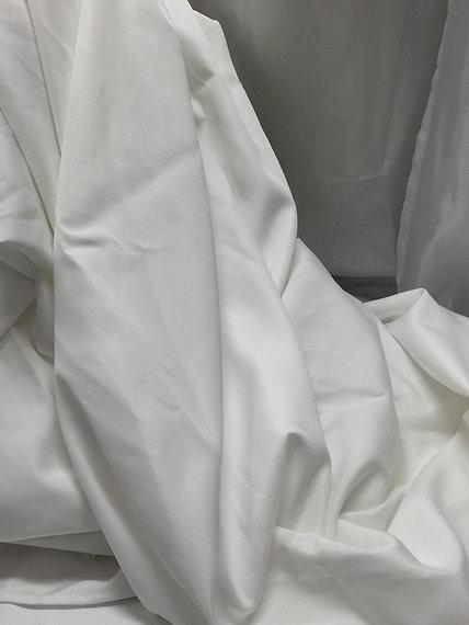 White Cotton/Poly TableCloth