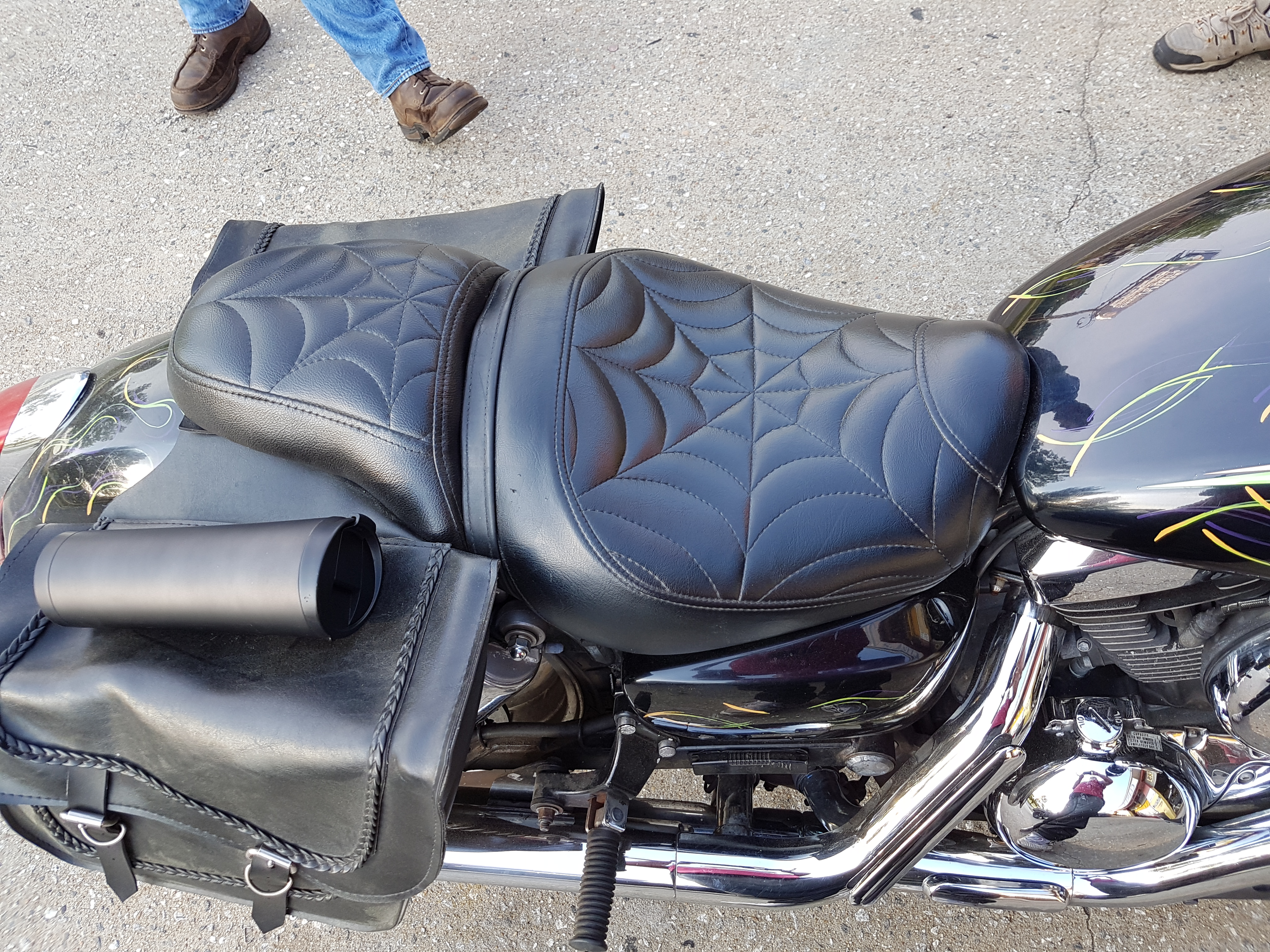 Custom Motorcycle Upholstery Vinyl