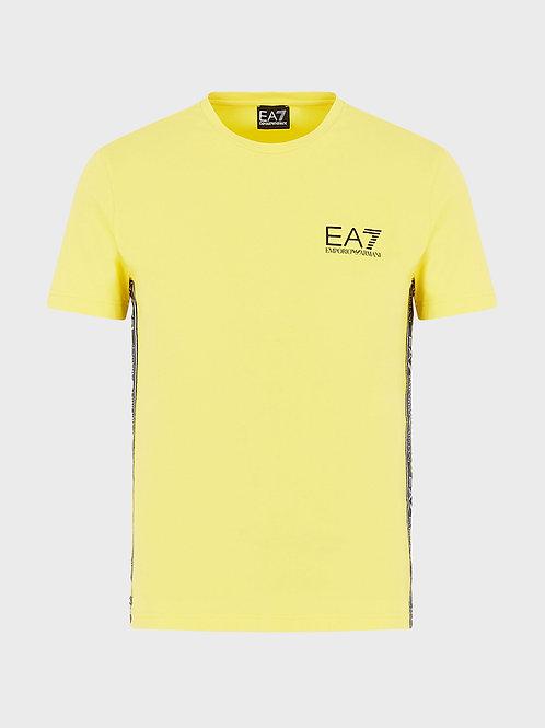 T-shirt basic in jersey con logo