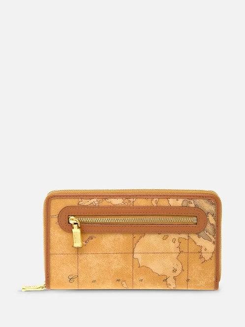 Geo Classic Portafogli grande con zip e tasca