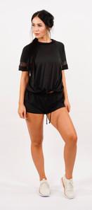 Women Relaxed Shirt 7T6 Black