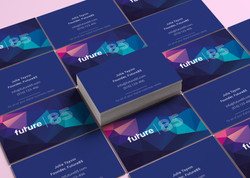 Business cards design showcase