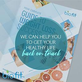 wellness instagram post design template blue