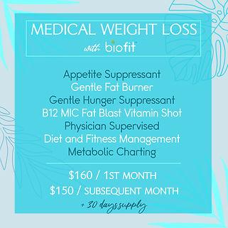 wellness instagram post design template blue tropical
