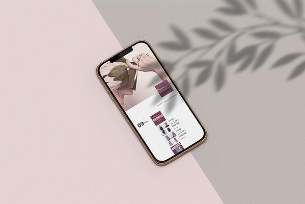 e-commerce social media design feminine