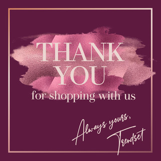thank you design post instagram template fashion feminine