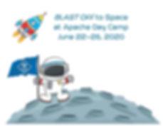 2020 - Apache Day Camp - Space Logo - le