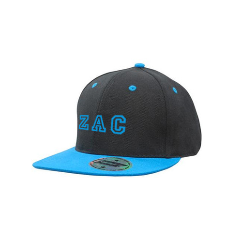 0800131fdf909 Personalised Snapback cap with Blue