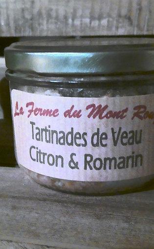 Tartinades de Veau Citron & Romarin