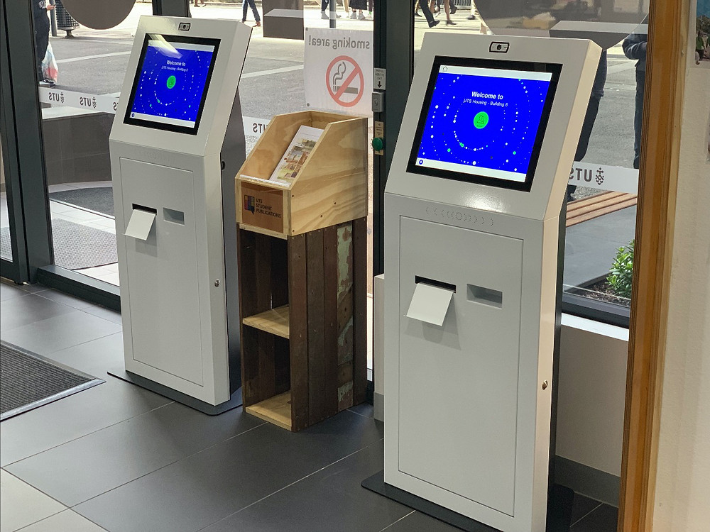 TIKS Visitor Management All in one kiosk
