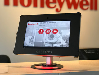 Just visiting - Honeywell's new Visitor Management Solution.
