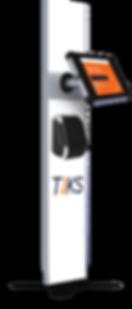 TIKS Hardware - Tablet free standing kiosk