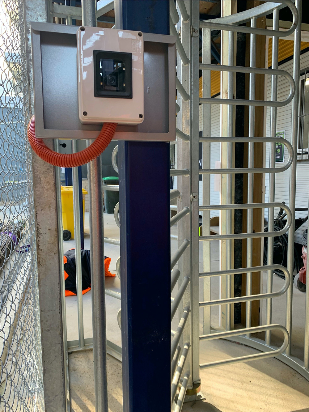 TIKS - Integrated turnstile solution