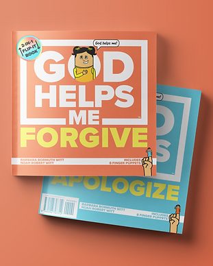 God Helps Me Forgive and Apologize 2-in-1 Flip-it Book